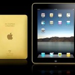 Amosu Couture Gold iPad – A More Glamorous Version of the Apple iPad