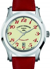 Cuervo y Sobrinos Robusto La Roja Limited Edition Watch – A Tribute to Spain's Victory in the 2010 FIFA World Cup
