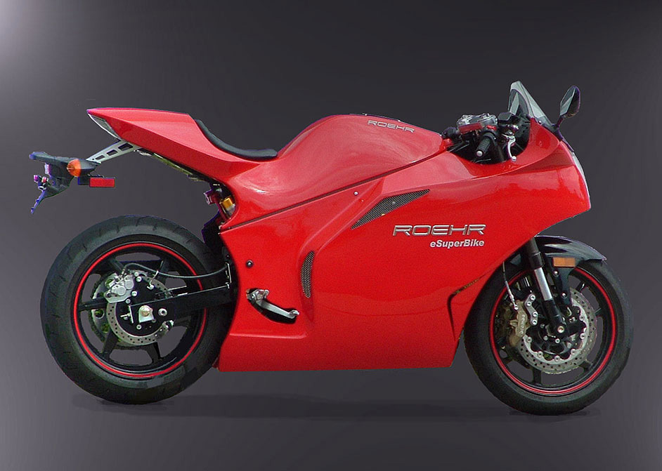 Roehr Motorcycles eSuperBike &#8211; The Fastest Electric Motorcycle