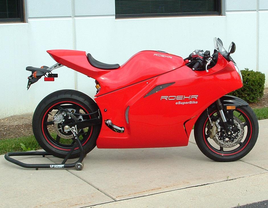 Roehr Motorcycles eSuperBike