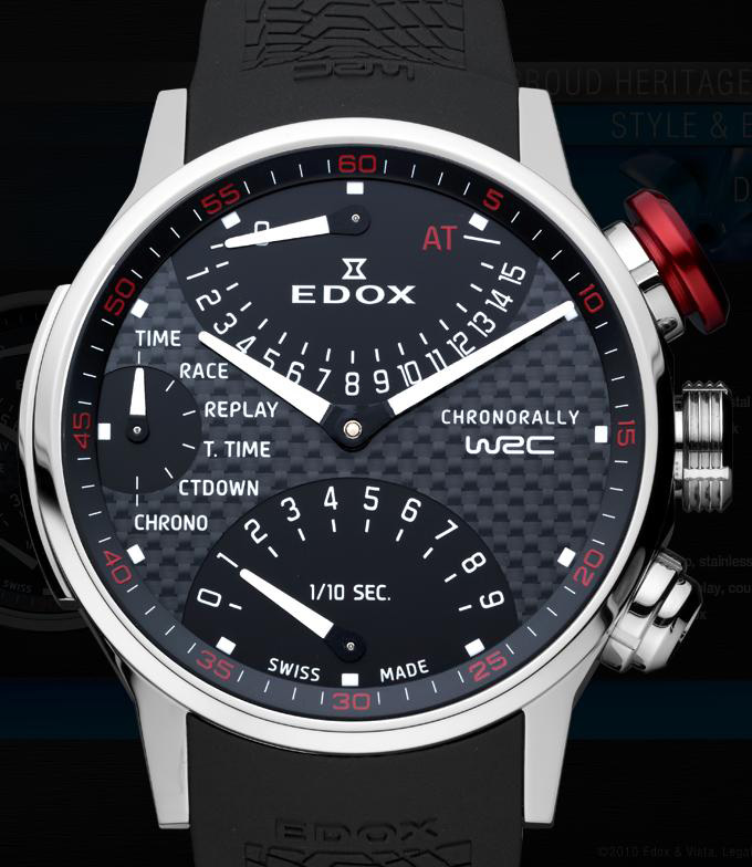 Edox WRC Xtreme Pilot &amp; WRC Chronorally Watches are Meant for People Who Wish to Measure Speed