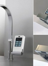 Nomos Touch-Screen Faucet By Fima – Fabulously, Futuristic and Functional Faucet Designs