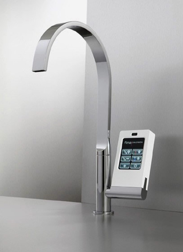 Nomos Touch-Screen Faucet By Fima Carlo Frattini