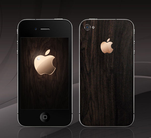 iPhone 4 in African Blackwood from Gresso for Man
