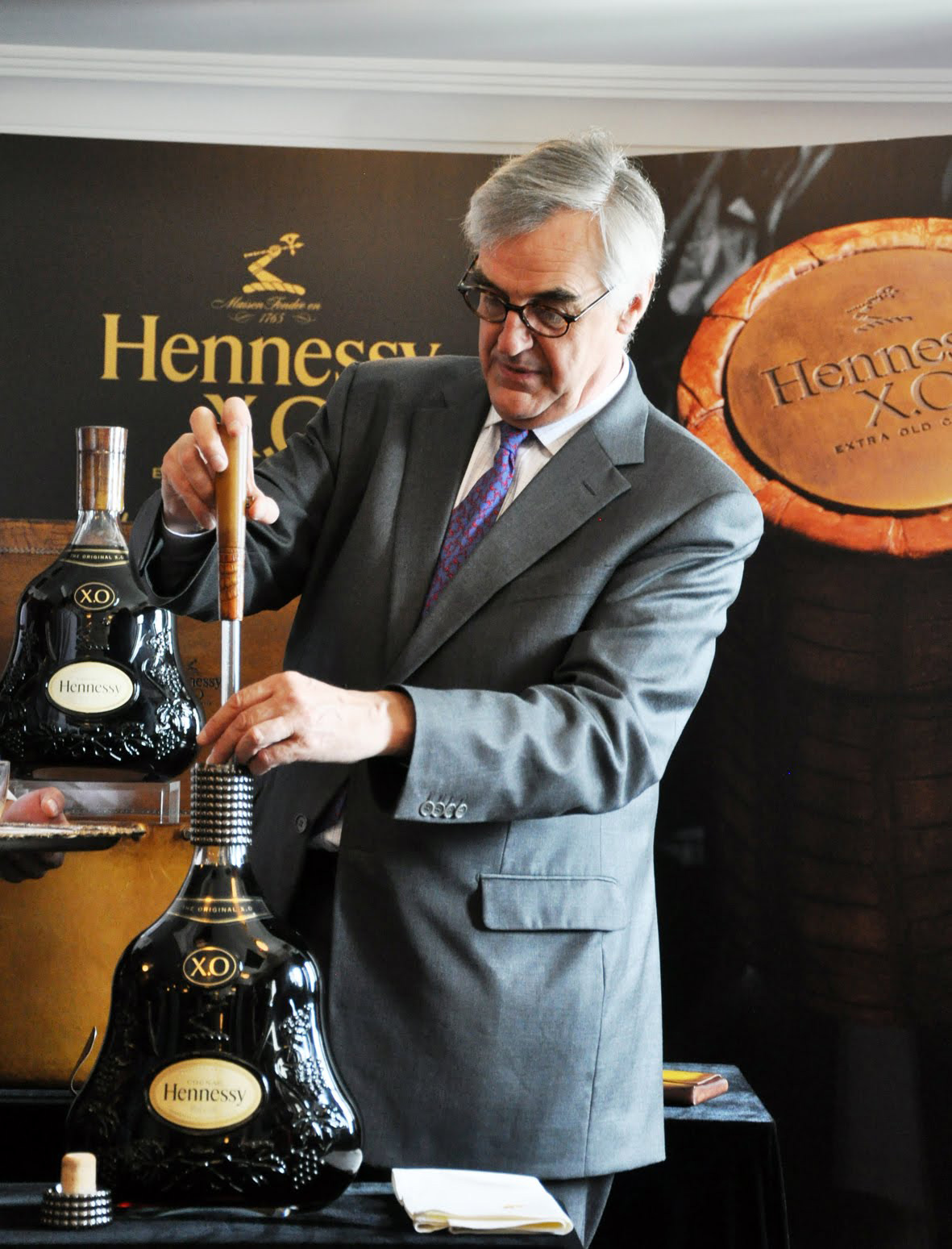 Limited Edition X.O Mathusalem Cognac from Hennessy