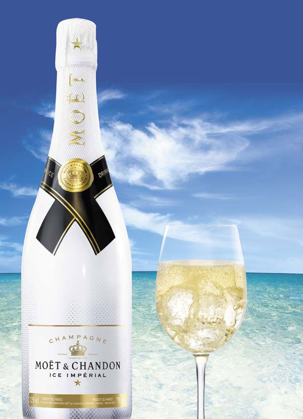 Moet & Chandon Ice Imperial Champagne – Made especially for exclusive and upscale resorts