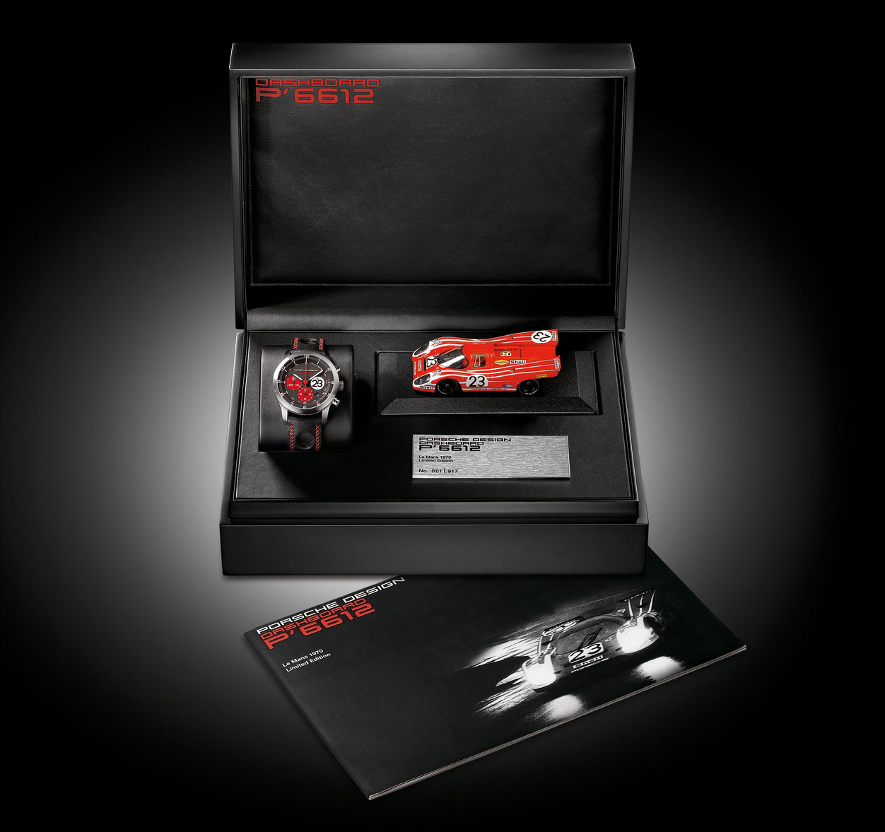 Porsche Design P6612 Dashboard Le Mans 1970 Watch &#8211; A tribute to Porsche&#8217;s first overall victory at Le Mans