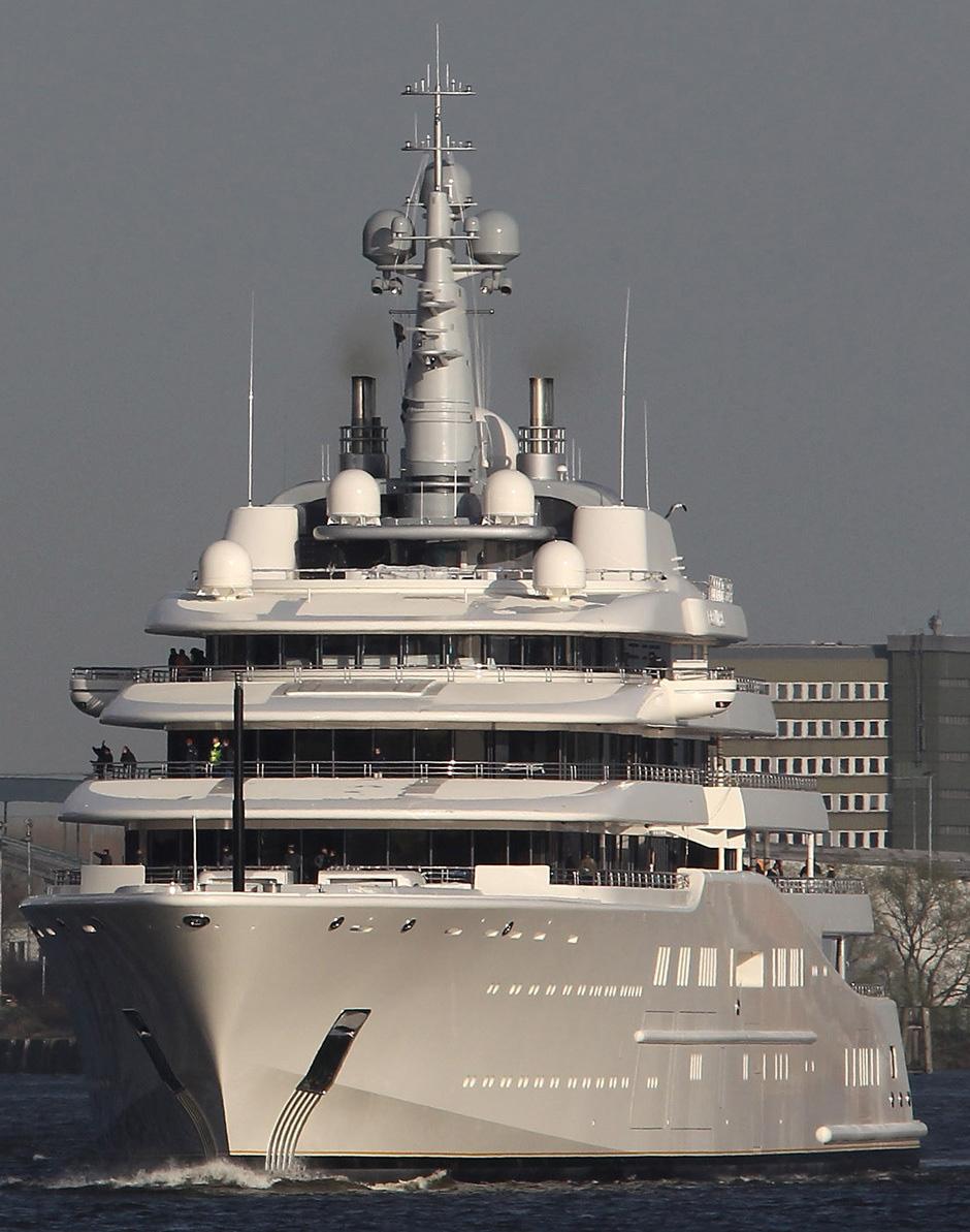 Roman Abramovich's Eclipse Yacht