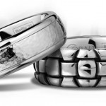 Scott Kay's Cobalt Wedding Ring Collections Hand Sculpted from BioBlu 27, the World's Superior Contemporary Metal