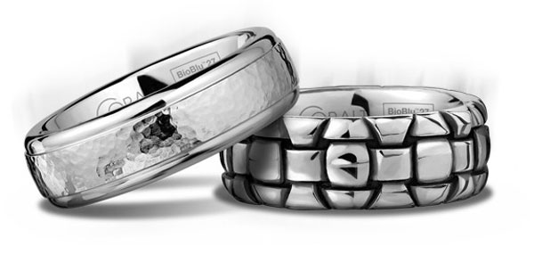 Scott Kay&#8217;s Cobalt Wedding Ring Collections Hand Sculpted from BioBlu 27, the World&#8217;s Superior Contemporary Metal