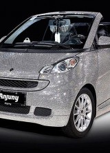 Smart Fortwo Dressed in Swarovski Crystals