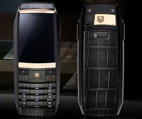 Three New Luxury Phones Joined TAG Heuer Merediist GMT Collection