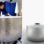 24-karat White Gold Luxury Bathtub by Inax Corp.