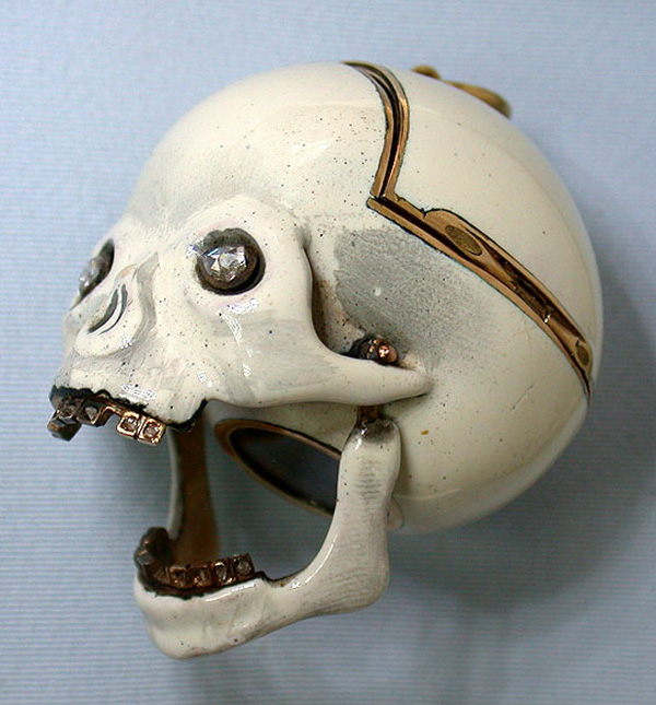 1810 Skull Pocket Watch