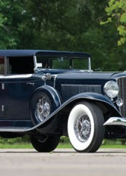 1933 Auburn Twelve Custom Phaeton Sedan