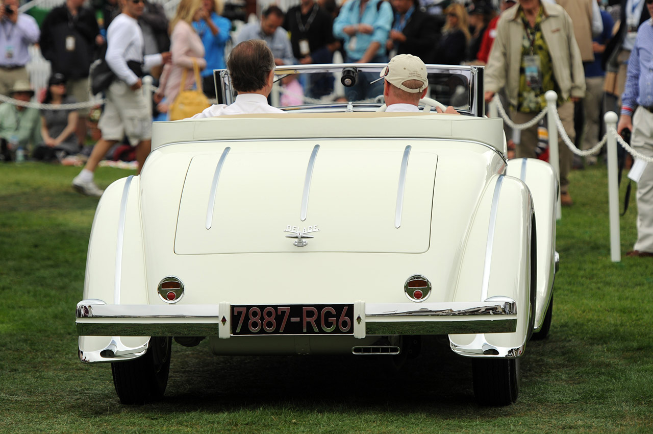 1933 Delage D8S De Villars Roadster Takes Pebble Beach Concours d'Elegance's Top Honor