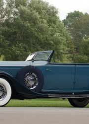 1933 Lincoln KB Custom Dietrich Convertible Sedan