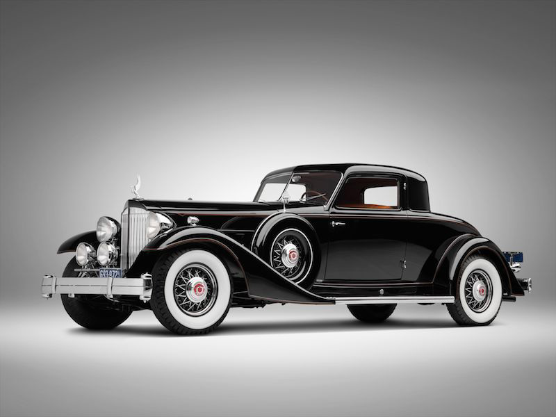 1933 Packard Twelve Coupe