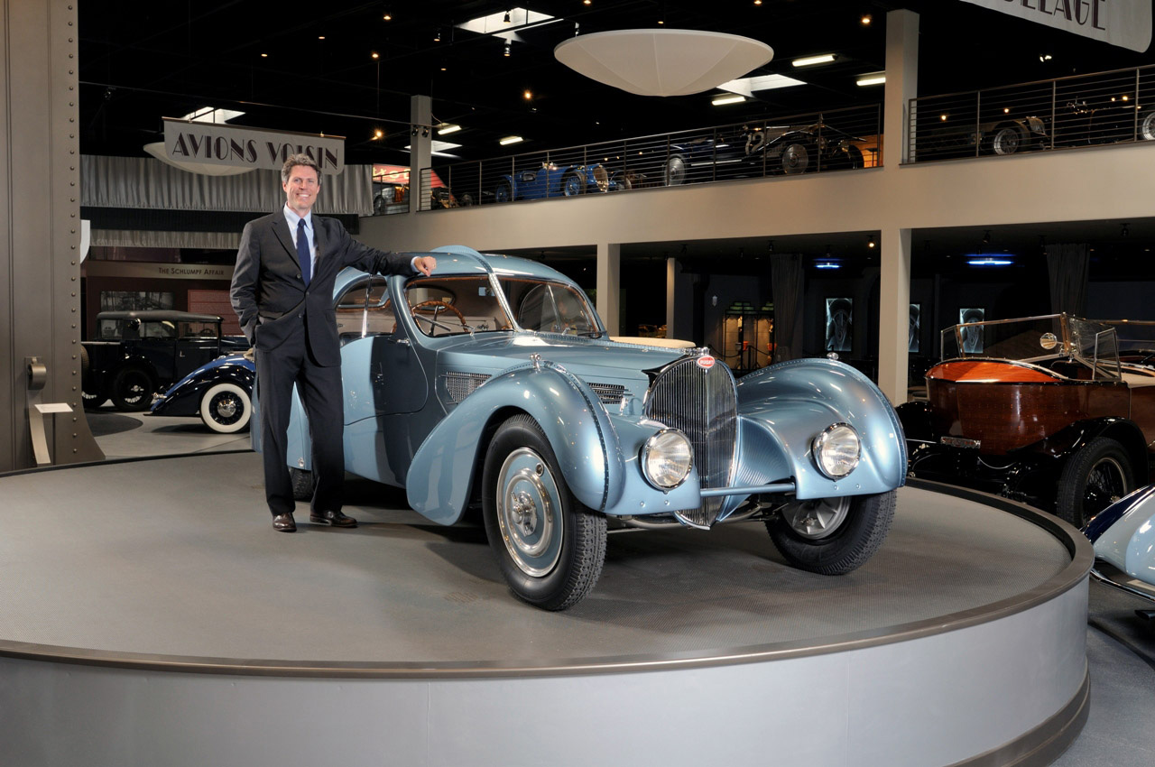The World's Most Expensive Car, 1936 Bugatti Type 57SC Atlantic on Display at the Mullin Automotive Museum