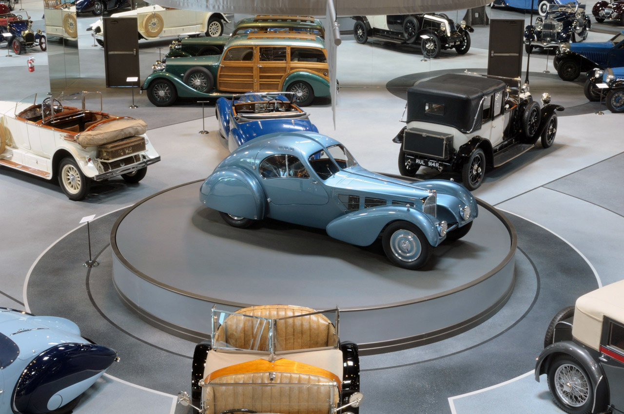 1936 Bugatti Type 57SC Atlantic on Display at the Mullin Automotive Museum
