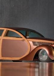 1937 Studebaker Extremeliner Woodie Custom by POSIES