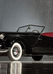 1938 Packard Eight Convertible Victoria