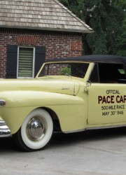1946 Lincoln Continental Indy 500 Pace Car