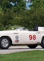 1957 Ford Thunderbird #98 Factory Racing Car The Battlebird