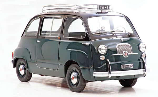 1960 Fiat 600 Multipla Taxi