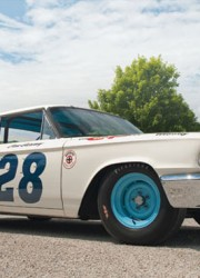 1963 12 Ford Galaxie Holman & Moody NASCAR Race Car
