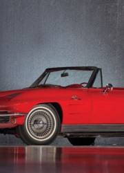 1963 Chevrolet Corvette Pilot Line Sting Ray Roadster