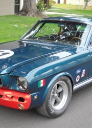 1966 Ford Mustang FIA Racing Car