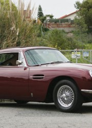 1968 Aston Martin DB6 Coupe Superleggera