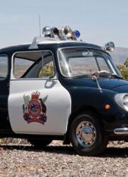 1970 Subaru 360 Police Car