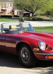 1972 Jaguar E Type Series III Convertible