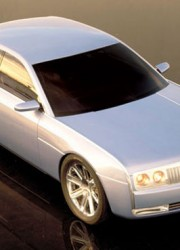 2002 Lincoln Continental Concept Shell