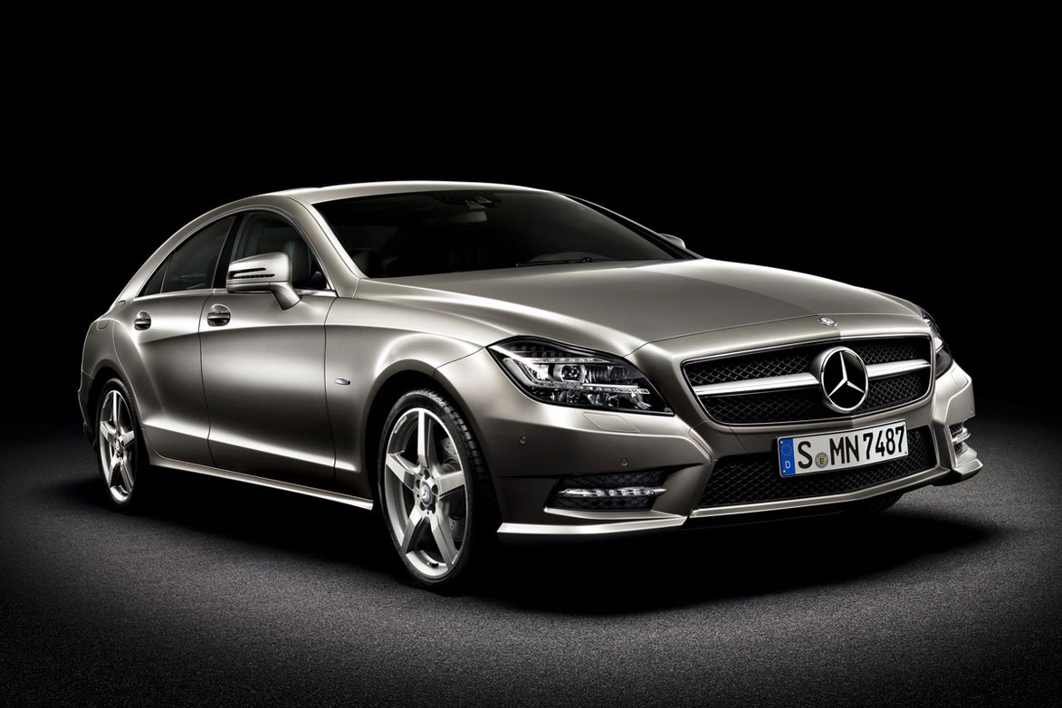 Next generation mercedes benz cls class officially for Mercedes benz cls class