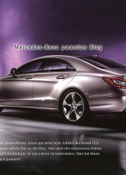 2011 Mercedes-Benz CLS Class – the First View of Mercedes' Latest Four Door Coupe