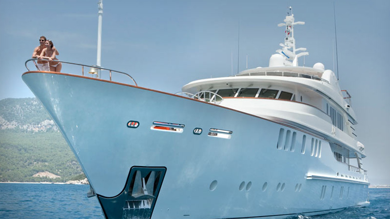 CMB Shipyard's Mystic Yacht