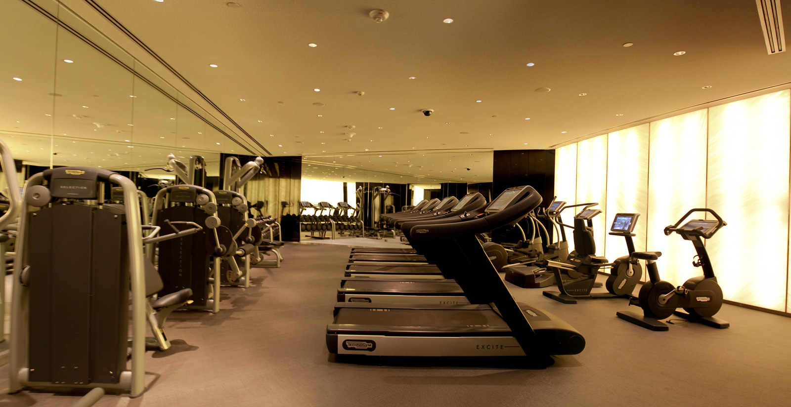 Technogym and Armani Hotel Dubai