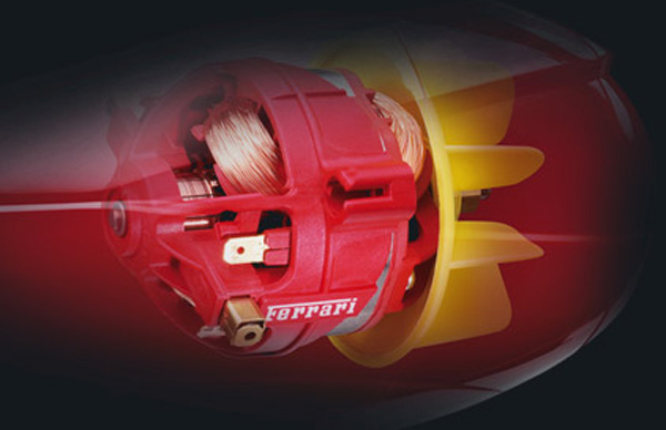 BaByliss Pro Volare Hair Dryer Made with Real Ferrari Parts
