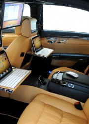 Brabus Mercedes S600 iBusiness Sedan Combines the Latest Apple Components and a Brabus Engine