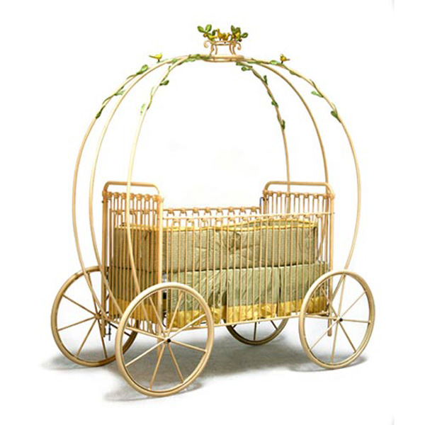 Cinderella Carriage Crib &#8211; Every Baby Princess Needs One of These