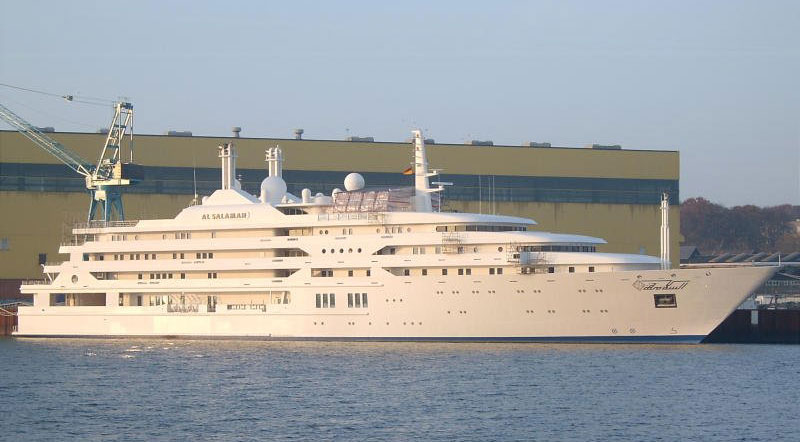 Crown Prince Sultan of Saudi Arabia's Al Salamah Yacht