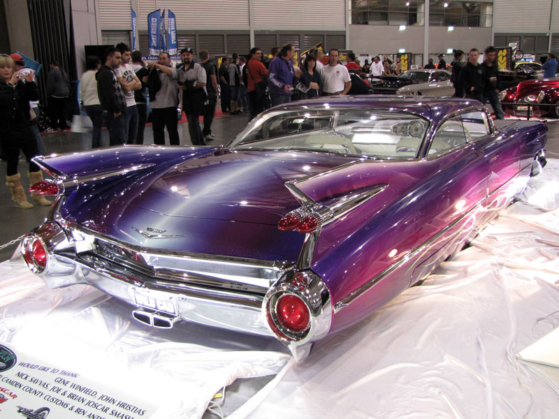 Wild Cad &#8211; Custom 1959 Cadillac Coupe De Ville Debuts at Sydney MotorEx