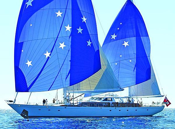 Freedom Auxillary Sailing Yacht