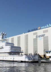 Feadship Launches Musashi XL 88 – Largest Yacht Ever