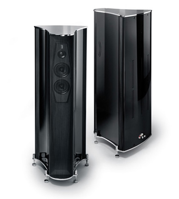 Franco Serblin's Ktêma Speakers