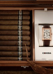Frederique Constant and Cohiba Offers Limited Edition Watch + Humidor Set