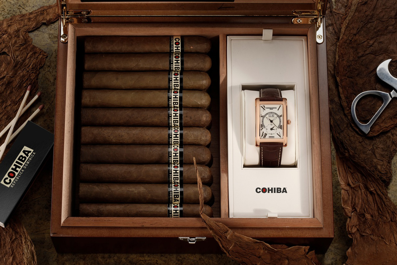 Frederique-Constant-and-Cohiba-Limited-Edition-Watch-+-Humidor-Set-1